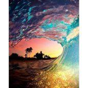 rainbow wave_Clark Little