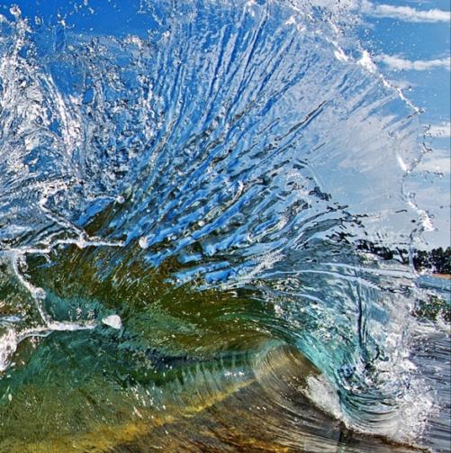 spraying wave_Clark Little