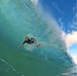 swimmer in wave_Clark Little