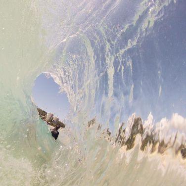 translucent wave